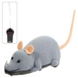Elektronische Fernbedienung Entzückende Graue Maus Spielzeug für das Spielen mit Katzen Haustier -