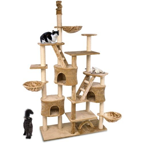 kratzbaum happypet cat013 top angebot empfehlung. Black Bedroom Furniture Sets. Home Design Ideas