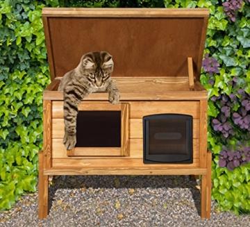 Selbsterwärmung Katzeschutz Katzenhaus -