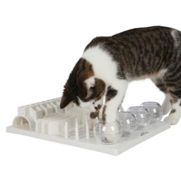 Trixie 4590 Cat Activity Fun Board, 30 × 40 cm, weiß -