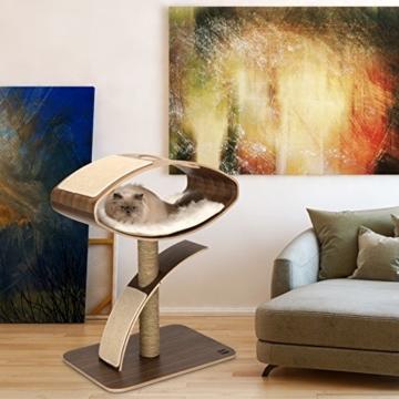 Vesper 52055 Katzenmöbel W-High Lounge, walnuss -
