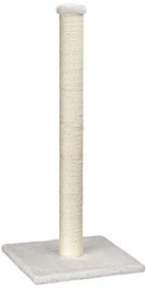 Europet Bernina 431-408650 Classic-Eco Katzenkratzbaum Highpost, 40 x 40 x 90 cm, Farbe beige -