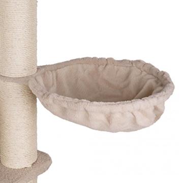 Happypet® CAT021 Kratzbaum Katzenbaum mittelhoch 1,86 m hoch Beige -