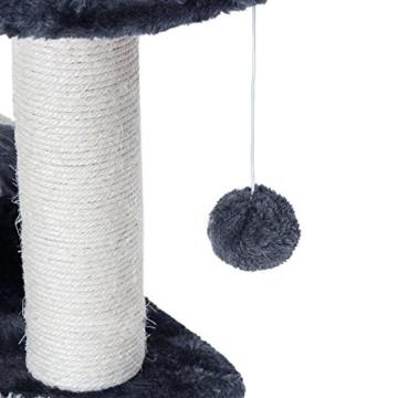 Songmics Kratzbaum verdickte Säule Druchmesse Grau 42 cm hoch PCT09G -